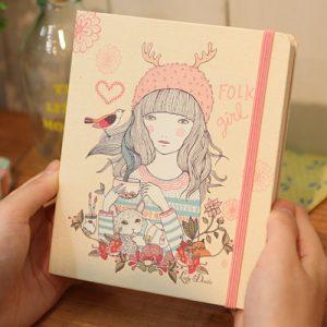 libreta-lady-desidia-folk-girl-maow-design-shop