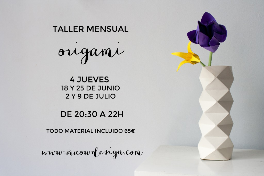 cartel-origami-taller-maow-design-shop
