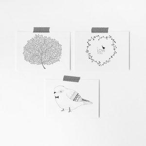 pack-postales-bird-love-tree-missmalagata-maow-design-shop-2