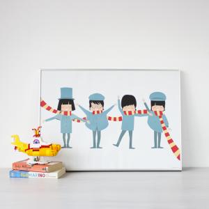 poster-the-beatles-superbritanico-maow-design-shop