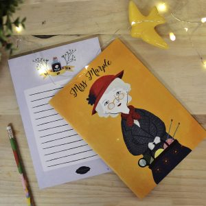 set-libreta-notas-miss-marple-maow-design-shop