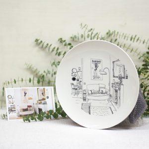 plato-ilustrado-el-refugio-de-luink-maow-design-shop